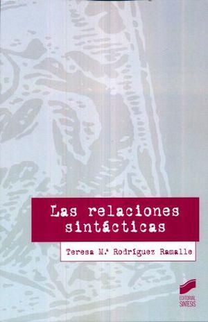 RELACIONES SINTACTICAS, LAS