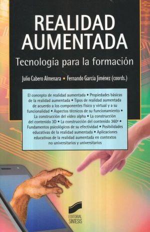 REALIDAD AUMENTADA. TECNOLOGIA PARA LA FORMACION