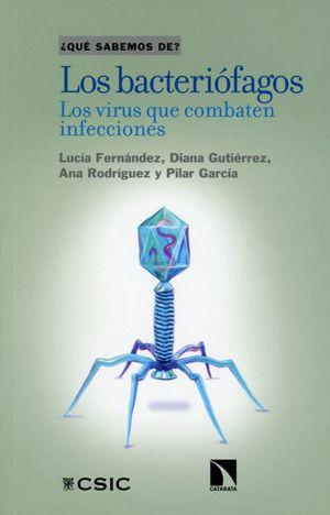 Los bacteriófagos. Los virus que combaten infecciones