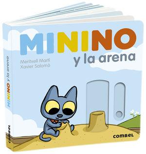 Minino y la arena / pd.