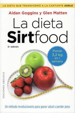La dieta Sirtfood / 3 ed.