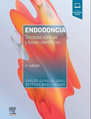 ENDODONCIA. TECNICAS CLINICAS Y BASES CIENTIFICAS (INCLUYE CONTENIDO DIGITAL) / 4 ED.