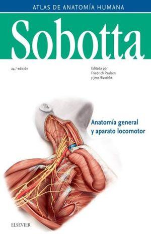 SOBOTTA. ATLAS DE ANATOMIA HUMANA / PD. / VOL. 1 / 24 ED.