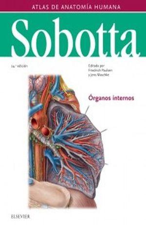 SOBOTTA. ATLAS DE ANATOMIA HUMANA / PD. / VOL. 2 / 24 ED.