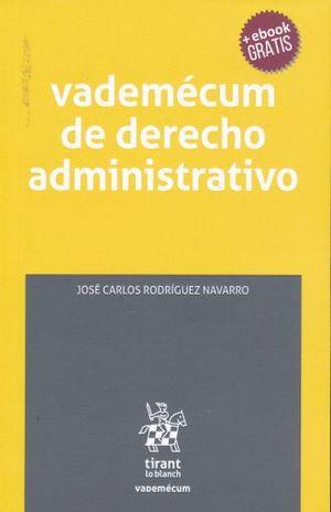 VADEMECUM DE DERECHO ADMINISTRATIVO