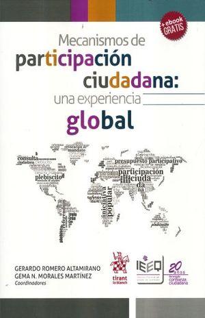 MECANISMOS DE PARTICIPACION CIUDADANA. UNA EXPERIENCIA GLOBAL