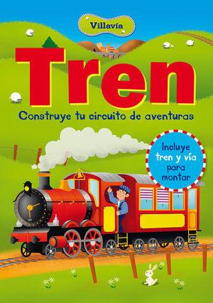 TREN VILLAVIA. CONSTRUYE TU CIRQUITO DE AVENTURAS / PD. (INCLUYE TREN Y VIA)