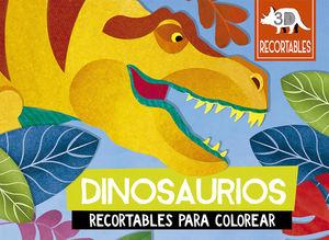 DINOSAURIOS RECORTABLES PARA COLOREAR / PD.