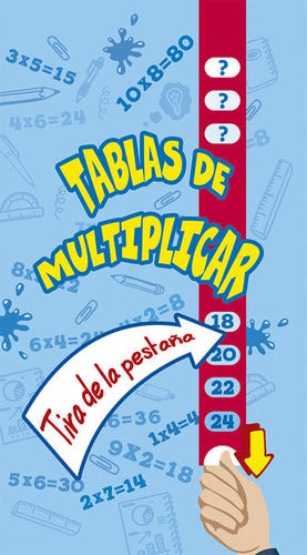 TABLAS DE MULTIPLICAR / PD.
