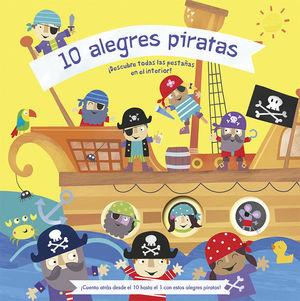 10 ALEGRES PIRATAS / PD.