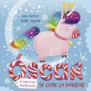 Óscar, el unicornio hambriento se come la navidad / pd.
