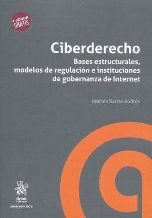 CIBERDERECHO. BASES ESTRUCTURALES MODELOS DE REGULACION E INSTITUCIONES DE GOBERNANZA DE INTERNET (+EBOOK)