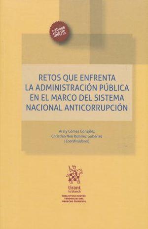 RETOS QUE ENFRENTA LA ADMINISTRACION PUBLICA EN EL MARCO DEL SISTEMA NACIONAL ANTICORRUPCION