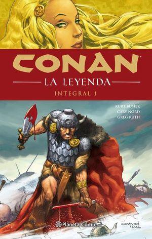 Conan la leyenda. Integral #01 / pd.
