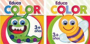 Educa color (2 títulos) (venta individual)