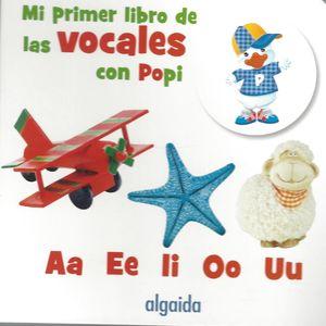 Mi primer libro de las vocales con popi / pd.