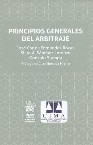PRINCIPIOS GENERALES DEL ARBITRAJE / PD. (INCLUYE EBOOK)