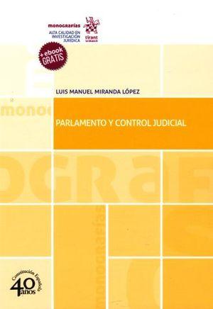PARLAMENTO Y CONTROL JUDICIAL (+EBOOK)