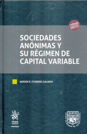 SOCIEDADES ANONIMAS Y SU REGIMEN DE CAPITAL VARIABLE / PD.