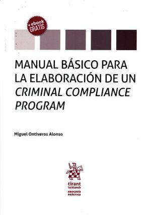 MANUAL BASICO PARA LA ELABORACION DE UN CRIMINAL COMPLIANCE PROGRAM