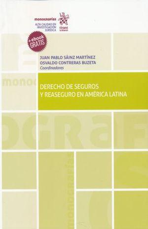 DERECHO DE SEGUROS Y REASEGURO EN AMERICA LATINA (+ EBOOK)