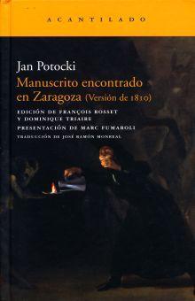 MANUSCRITO ENCONTRADO EN ZARAGOZA (VERSION DE 1810) / PD.