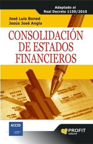 CONSOLIDACION DE ESTADOS FINANCIEROS
