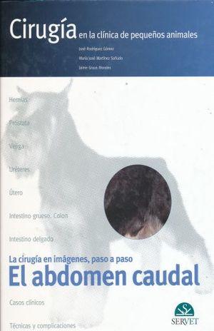 ABDOMEN CAUDAL, EL. CASOS CLINICOS LA CIRUGIA EN IMAGENES PASO A PASO CIRUGIA EN LA CLINICA DE PEQUEÑOS ANIMALES / PD.