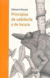 PRINCIPIOS DE SABIDURIA Y DE LOCURA