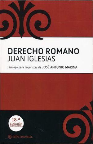 DERECHO ROMANO / 18 ED.