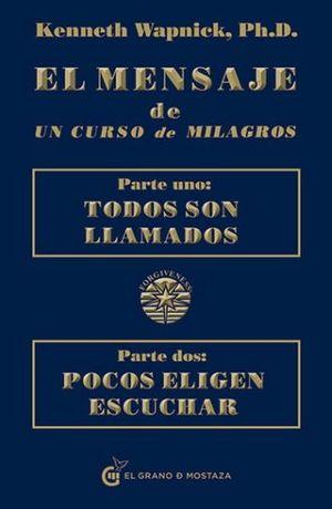 MENSAJE DE UN CURSO DE MILAGROS, EL / 5 ED.