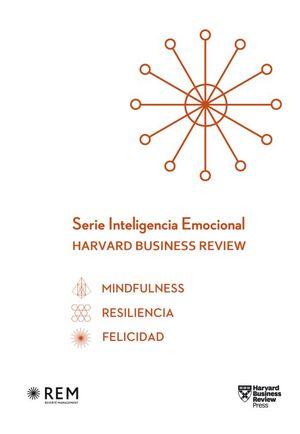 ESTUCHE SERIE INTELIGENCIA EMOCIONAL HBR. MINDFULNESS / RESILIENCIA / FELICIDAD