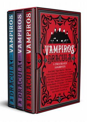 Vampiros. Drácula y otros relatos sangrientos / (Estuche con 3 volúmenes)