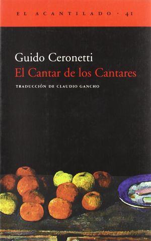 CANTAR DE LOS CANTARES, EL