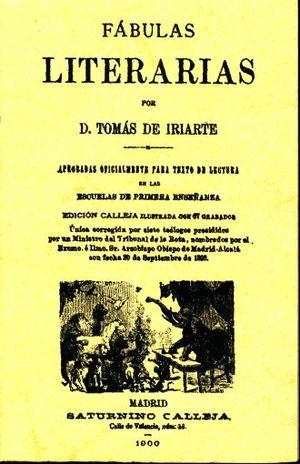 FABULAS LITERARIAS (FACSIMILAR)