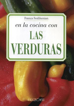 En la cocina con las verduras