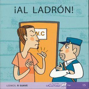 LADRON, AL. LEEMOS R SUAVE ( SCRIPT )