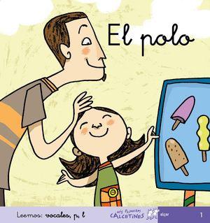 POLO, EL. LEEMOS VOCALES P,L ( CURSIVA )