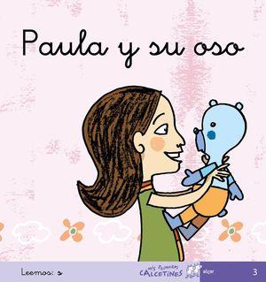 PAULA Y SU OSO. LEEMOS S (CURSIVA)