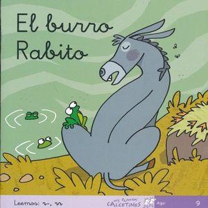 BURRO RABITO, EL. LEEMOS R, RR ( CURSIVA )