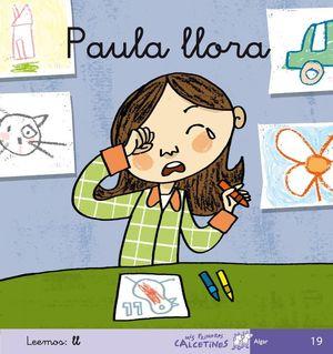 PAULA LLORA, LEEMOS LL (CURSIVA)