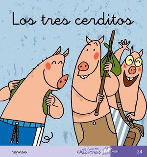 TRES CERDITOS, LOS REPASO (CURSIVA)