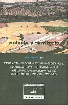 PAISAJE Y TERRITORIO