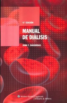 Manual De Dialisis 4 Ed Daugirdas John T Libro En Papel 9788496921023 Libreria El Sotano