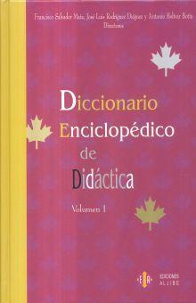 DICCIONARIO ENCICLOPEDICO DE DIDACTICA / VOL. I Y II / PD.