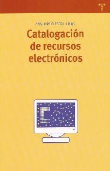 CATALOGACION DE RECURSOS ELECTRONICOS