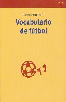 VOCABULARIO DE FUTBOL
