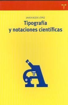 TIPOGRAFIA Y NOTACIONES CIENTIFICAS
