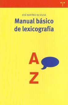 MANUAL BASICO DE LEXICOGRAFIA