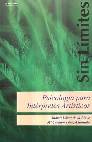 PSICOLOGIA PARA INTERPRETES ARTISTICOS
